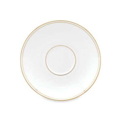 Lenox® Federal Gold Saucer in White