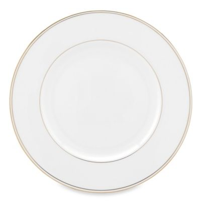 Lenox® Federal Gold Dinner Plate in White
