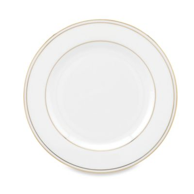 Lenox® Federal Gold Bread and Butter Plate in White