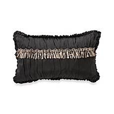 Waterford® Ormonde Decorative Toss Pillow in Black and Gold