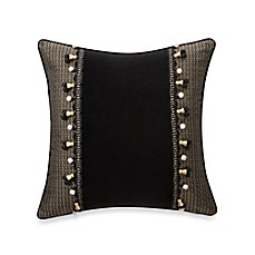 Waterford® Ormonde Large Decorative Pillow in Black and Gold