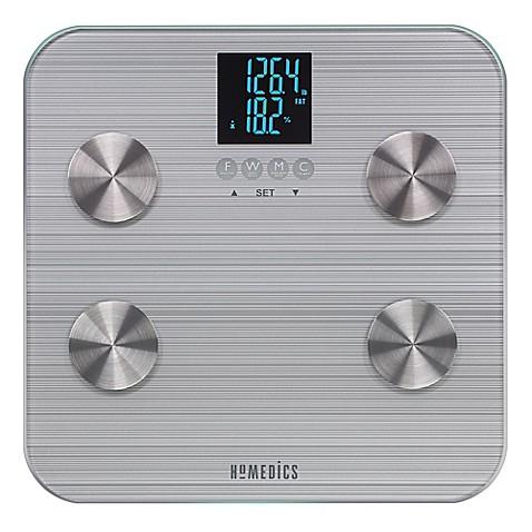 Homedics 174 531 Healthstation 174 Body Fat Bathroom Scale Bed
