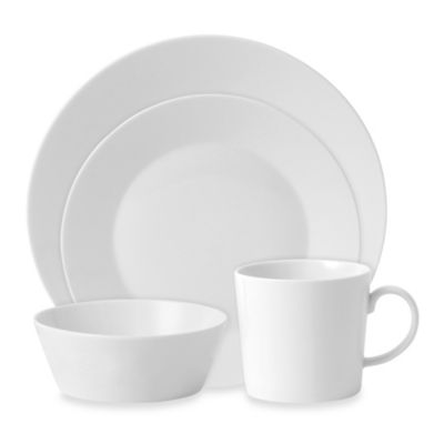 Royal Doulton® Fable 4-Piece Place Setting in White
