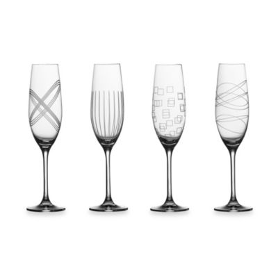 Royal Doulton® Party Collection Toasting Flutes (Set of 4)