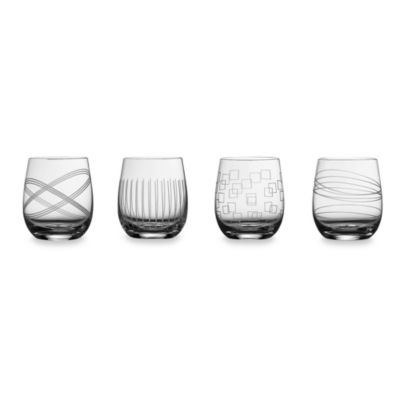 Royal Doulton® Party Collection Double Old Fashioned Tumblers (Set of 4)