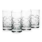Reed & Barton Cove 13-Ounce Hiball Glasses (Set of 4)