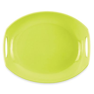 Dansk® Classic Fjord 11.5-Inch Serving Platter in Apple Green
