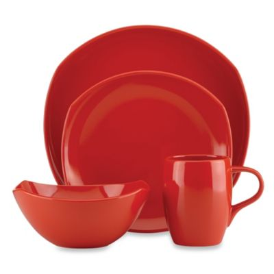 Dansk® Classic Fjord 4-Piece Place Setting in Chili Red