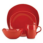 Dansk® Classic Fjord 4-Piece Dinnerware Place Setting in Chili Red