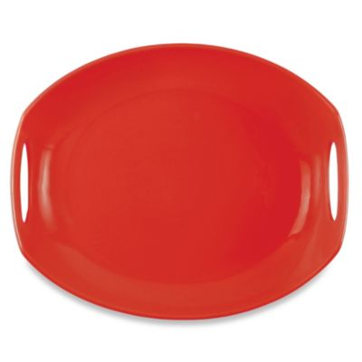 Dansk® Classic Fjord 11.5-Inch Serving Platter in Chili Red