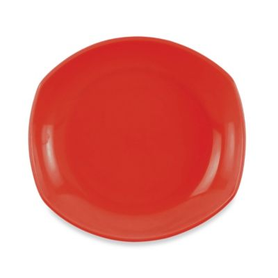 Dansk® Classic Fjord Salad Plate in Chili Red