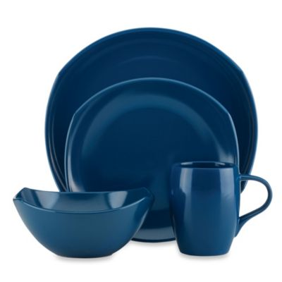 Dansk® Classic Fjord 4-Piece Place Setting in Nordic Blue