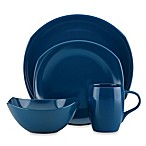 Dansk® Classic Fjord 4-Piece Dinnerware Place Setting in Nordic Blue