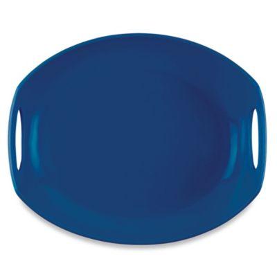 Dansk® Classic Fjord 11.5-Inch Serving Platter in Nordic Blue