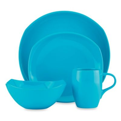 Dansk® Classic Fjord 4-Piece Dinnerware Place Setting in Sky Blue