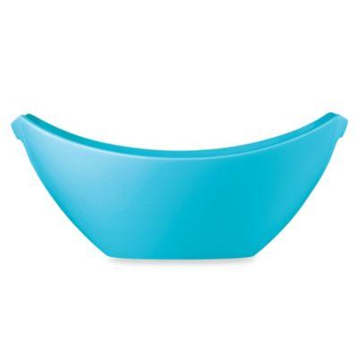 64-ounce Blue Serving Bowl
