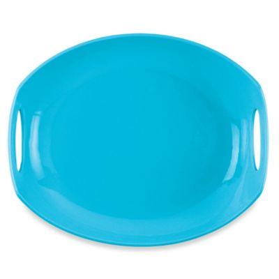 Dansk® Classic Fjord 11.5-Inch Serving Platter in Sky Blue