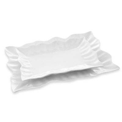 Carmona French Lace Platter (Set of 2)