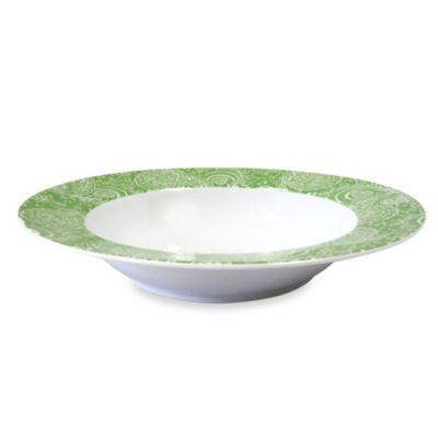 Nikko Faithful 9-Inch Soup/Pasta Bowl in Green