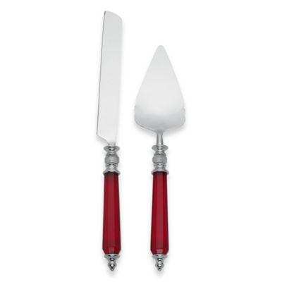 Lenox® Holiday™ Jewel 2-Piece Cake Knife and Server Set