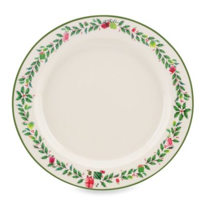 Lenox® Holiday Illustrations 11-Inch Dinner Plate