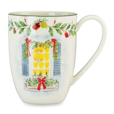 Lenox® Holiday Illustrations 14-Ounce House Mug