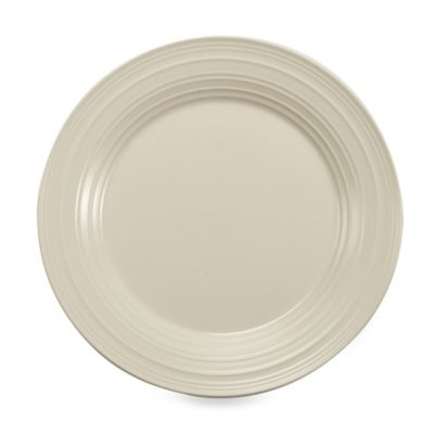 Swirl White 10 3/4-Inch Dinner Plate
