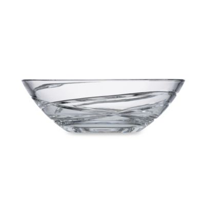 Clear Low Bowl