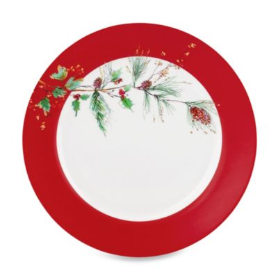 Lenox® Winter Song 11.25-Inch Square Dinner Plate