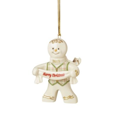 Lenox® 2013 Sweet Tidings Gingerbread Ornament