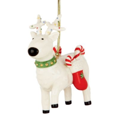 Lenox® Festive Friends Reindeer Ornament