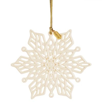 Lenox® 2013 Snow Fantasies Snowflake Ornament