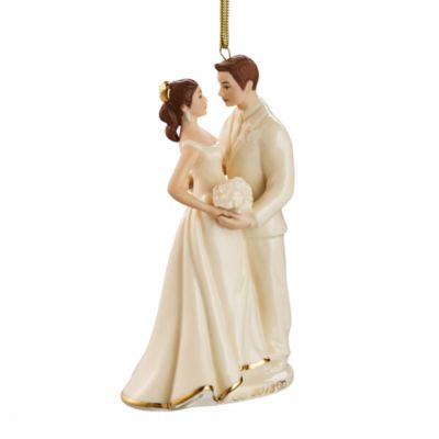 Lenox® 2013 Always & Forever Bride & Groom Ornament