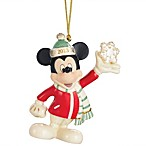 2013 Disney's Mickey's Snowflake Surprise Ornament by Lenox®
