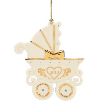 Lenox® 2013 Baby's First Christmas Carriage Ornament