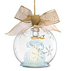 Lenox® Lighted Snowman Wonderball Ornament
