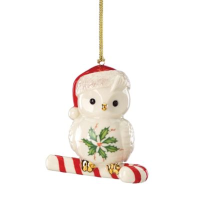Lenox® Happy Hoolidays Owl Ornament