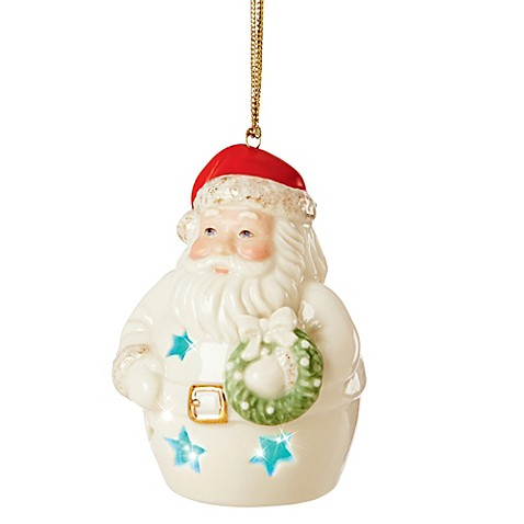 Buy Lenox 174 Santa Color Changing Lit Ornament From Bed Bath