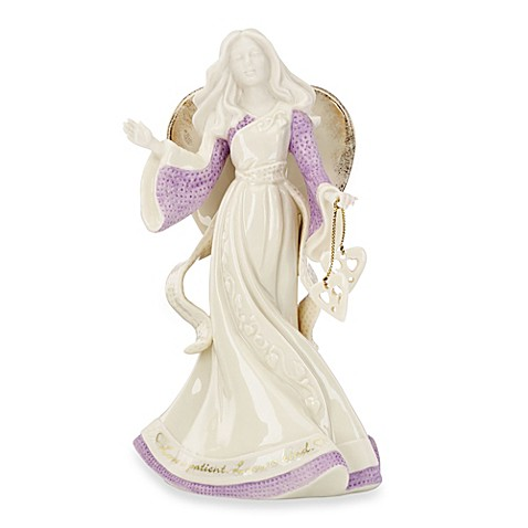 Buy lenox gifts of grace angel figurine love is patient love is kind from bed bath beyond - Angels figurines for sale ...