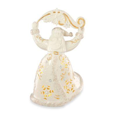 Lenox® Florentine & Pearl Santa Holiday Figurine