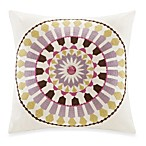 Echo Design™ Vineyard Paisley Antique White Square Toss Pillow