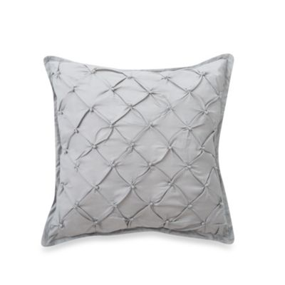 Waterford® Kelly 18-Inch Square Pillow in Sea Blue