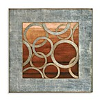 Matthew Menger Eclipse II Glass Wall Art in Spice