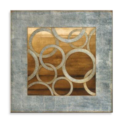 Matthew Menger Eclipse I Glass Wall Art