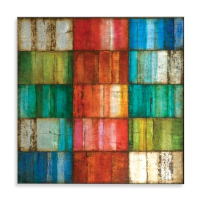 Matthew Menger Kaleidoscope I Glass Wall Art
