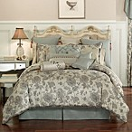 Waterford® Kelly Duvet Cover in Sea Blue