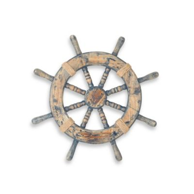 Decorative Ship Wheel Wall Decor