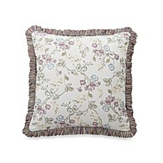 Waterford® Ciara Square 18-Inch Toss Pillow