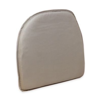 Essentials Twill Delightfill® Gripper® Chair Pad