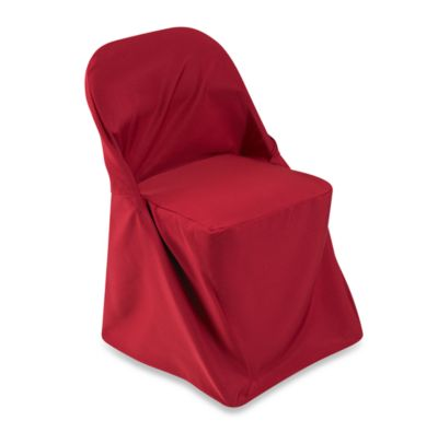 Folding Chair Cover in Red